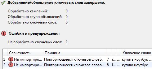 Редактор Адвордс